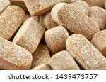 close up photo of many brown... | Shutterstock . vector #1439473757