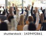 front view of mature caucasian... | Shutterstock . vector #1439492861