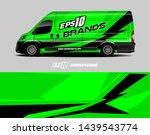 cargo van decal design concept. ...   Shutterstock .eps vector #1439543774