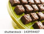 small sweet and salry brownie... | Shutterstock . vector #143954407