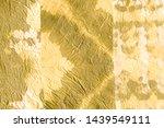 crumpled foil. golden metallic...   Shutterstock . vector #1439549111