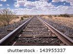 Railroad Tracks Outside Of...