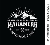 mountain logo  emblem for...   Shutterstock . vector #1439564237