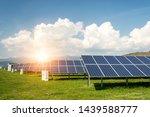 solar panel  photovoltaic ... | Shutterstock . vector #1439588777