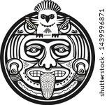american aztec mayan vector...   Shutterstock .eps vector #1439596871