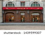 Small photo of PARIS, FRANCE - SEPTEMBER 14, 2018. The MAXIM'S restaurant, located at 3 rue Royale, in the Madeleine district. Was founded on April 7, 1893, it is the most famous restaurant of the French capital.