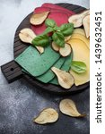 Assortment Of Cheese With Pear...