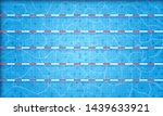 swimming pool top view. blue... | Shutterstock .eps vector #1439633921