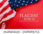 happy american flag day... | Shutterstock . vector #1439696711