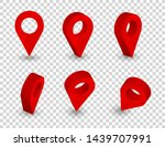 map pointer 3d pin. location... | Shutterstock .eps vector #1439707991