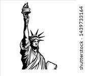Liberty Statue Vector...