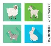 vector illustration of breeding ... | Shutterstock .eps vector #1439760914