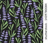 natural seamless pattern with... | Shutterstock .eps vector #1439780084