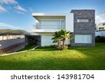 big modern house | Shutterstock . vector #143981704
