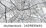 urban vector city map of...   Shutterstock .eps vector #1439850641