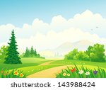 vector illustration of a... | Shutterstock .eps vector #143988424