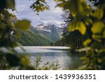 Lake Lago Di Predil In Italy