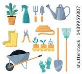 garden tool vector gardening... | Shutterstock .eps vector #1439959307