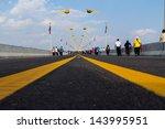 thai lao friendship bridge | Shutterstock . vector #143995951