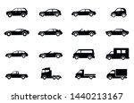 car icon set  cars symbol... | Shutterstock .eps vector #1440213167