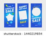 new year sale social media... | Shutterstock .eps vector #1440219854