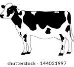 cow   Shutterstock .eps vector #144021997