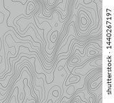 topographic map lines...   Shutterstock .eps vector #1440267197