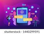 digital marketing  online...   Shutterstock .eps vector #1440299591