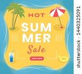 seasonal wholesale social media ... | Shutterstock .eps vector #1440325091