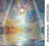 Spiritual Art. All Seeing Eye...