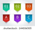 Vector Step Options Banners An...