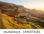 the quiraing walk in skye ... | Shutterstock . vector #1440373181