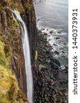 kilt rock in skye  scotland. | Shutterstock . vector #1440373931