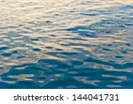 Water Surface Of The Sea...