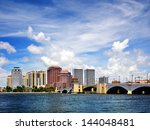 west palm beach  florida  usa. | Shutterstock . vector #144048481