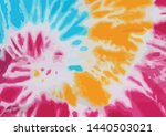 tie dye colorful abstract... | Shutterstock .eps vector #1440503021