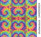 tie dye colorful abstract... | Shutterstock .eps vector #1440503024