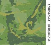 camouflage grunge texture.... | Shutterstock .eps vector #1440508871