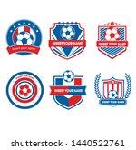 fotboll soccer eps package... | Shutterstock .eps vector #1440522761