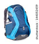 blue backpack  isolated over... | Shutterstock . vector #144052459