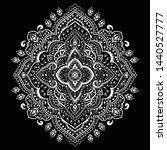 indian rug tribal ornament... | Shutterstock .eps vector #1440527777