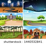 large set of different... | Shutterstock .eps vector #1440532841