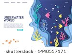 Underwater World Vector Websit...