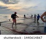 Fishing Net In Hai Hoa Beach ...