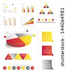infographics collection of... | Shutterstock .eps vector #144064981