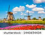 Colorful Spring Landscape In...