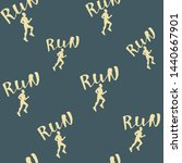 run motivation background.... | Shutterstock .eps vector #1440667901