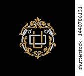initial letter d and u  du  ud  ... | Shutterstock .eps vector #1440786131