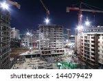 lightening multi storey... | Shutterstock . vector #144079429
