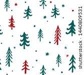 vector seamless pattern... | Shutterstock .eps vector #1440809531